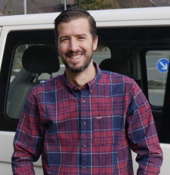Jochen Nill, der Montageleiter der Firma Fensterbau Nill.